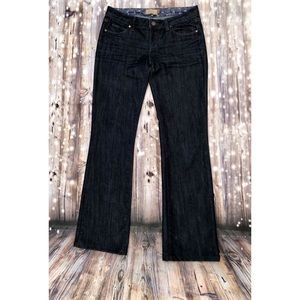 Paige dark wash classic rise bootcut jeans